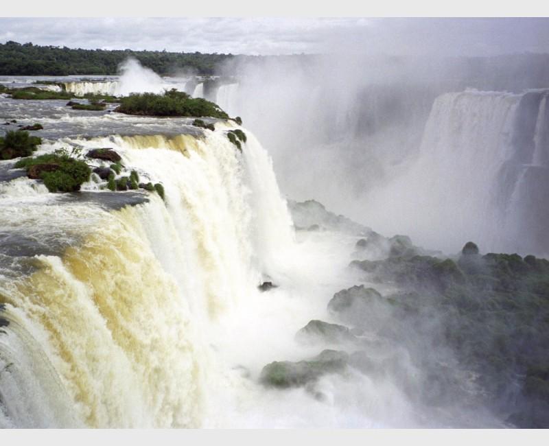 Falls at Iguaçu - II - Brazil, 1996