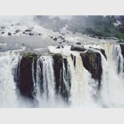 Falls at Iguaçu - I - Brazil, 1996