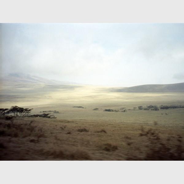 Hotel view - The Mara, Kenya, 1997
