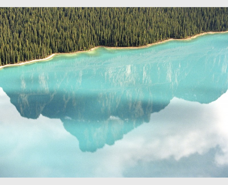 Jasper reflections - I - Jasper National Park, Canada, 2007