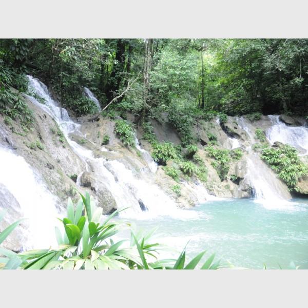 Waterfalls at Cerro San Gil - I - Guatemala, 2009