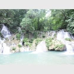 Waterfalls at Cerro San Gil - II - Guatemala, 2009