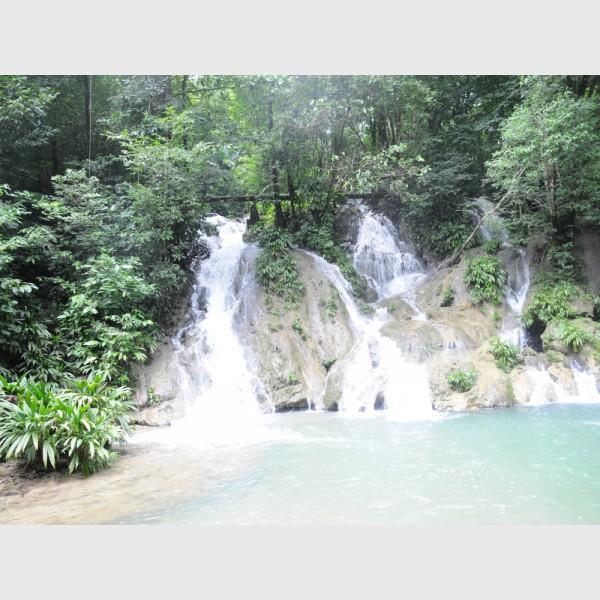 Waterfalls at Cerro San Gil - III - Guatemala, 2009