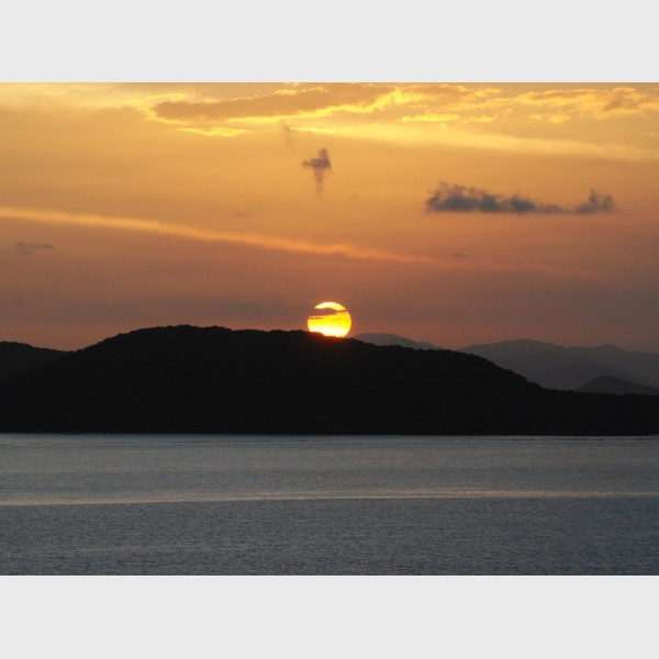 Sunset - I - Virgin Islands, 2009