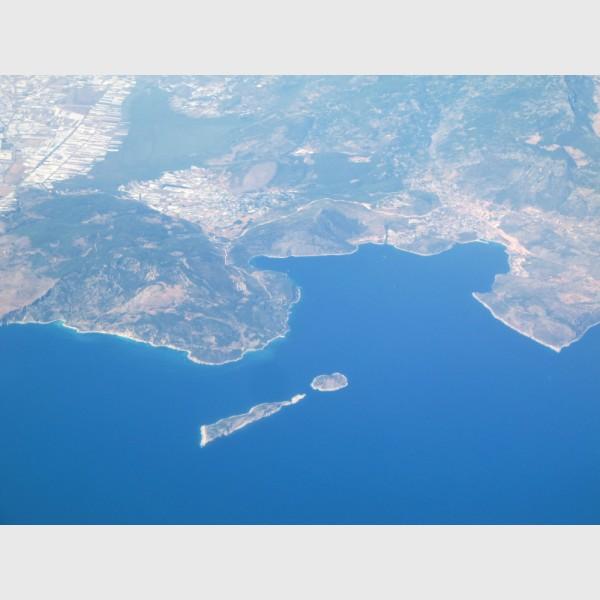 """Exclamation island"" - Turkey, 2011"
